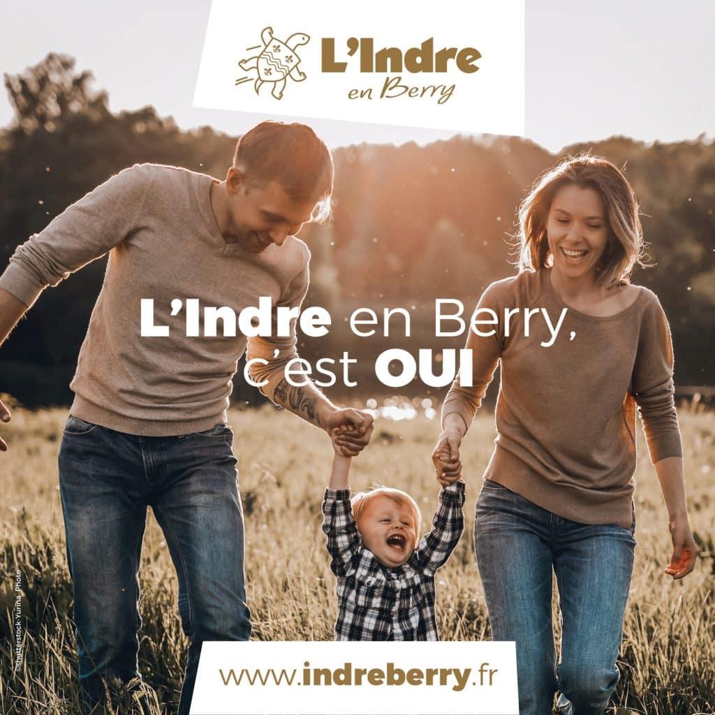 brochure 8 pages - L'indre en Berry, c'est OUI