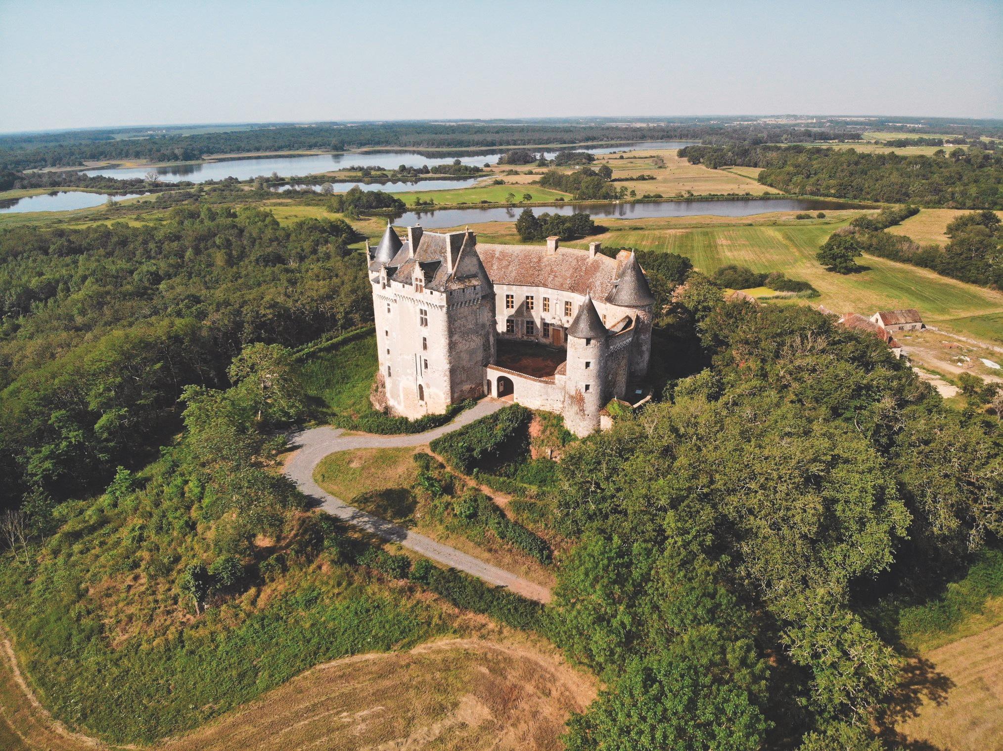 Le château du Bouchet à Rosnay